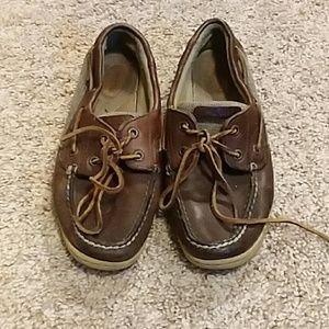3 for $15 dark brown Sperrys shoes